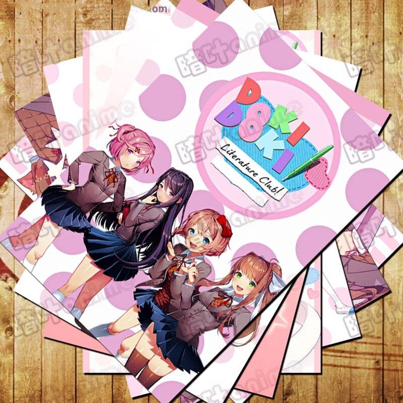 Doki Doki Literature Club Natsuki Poster