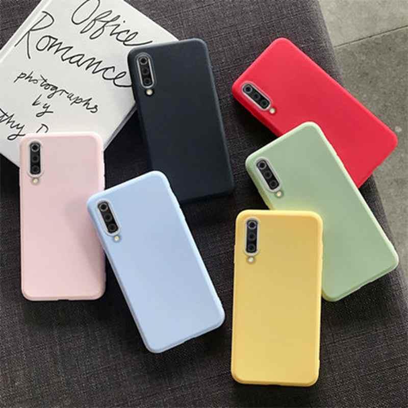 Fashion Soft Silicone Case for Samsung Galaxy A10 A20 A30 A50 A30S A50S J2 J7 Prime J7Pro G530 Slim Candy Color Cover Cases
