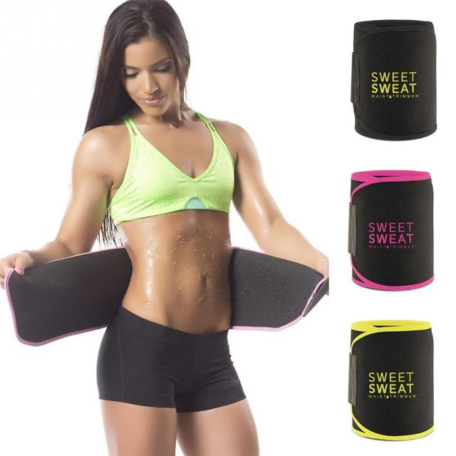Adjustable Waist Trimmer Belt Sweat Wrap Tummy Stomach Weight Loss Fat Slimming Exercise Belly Body Beauty Waist Support 4