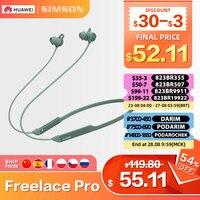 Huawei-auriculares inalámbricos FreeLace Pro, cascos intrauditivos genuinos con micrófono Dual, cancelación activa de ruido y Bluetooth, 24 horas