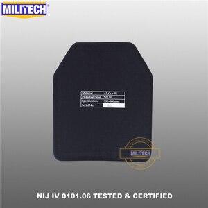 Image 5 - MILITECH tlenek glinu i PE NIJ IV płyta kuloodporna Al2O3 tlenek glinu NIJ IV samodzielny Panel balistyczny NIJ poziom 4 płyta ESAPI