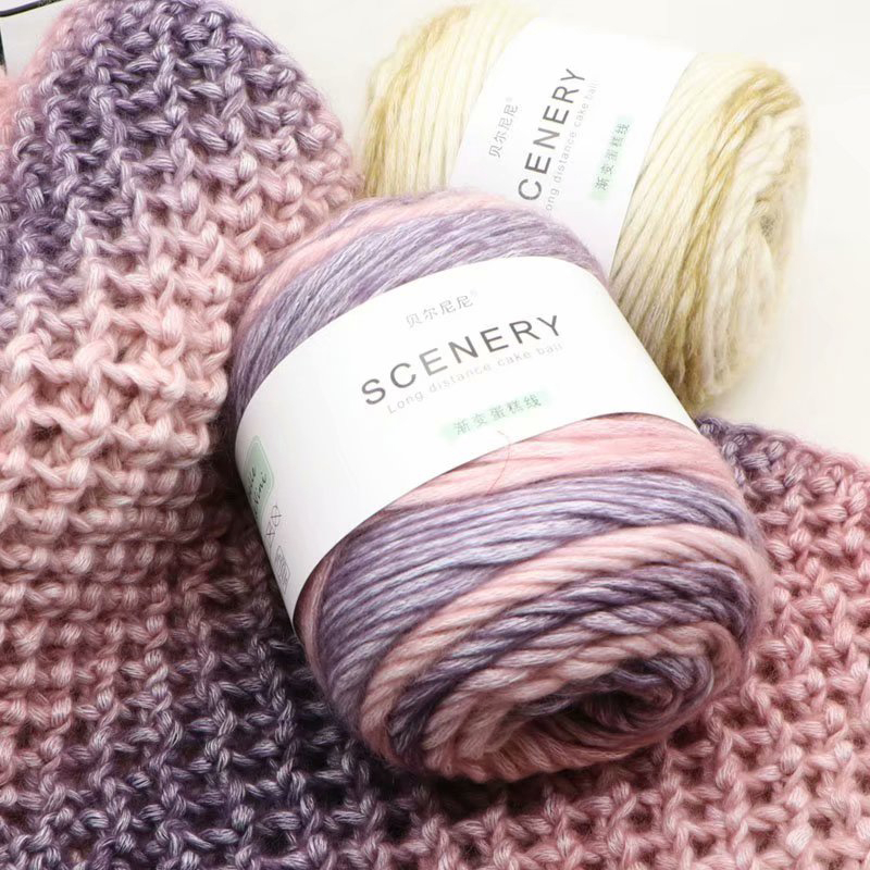 Merino Yarn Worsted Lot Natural Wool Yarn for Knitting Sweater Blanket Crochet Yarn Melange 100g/pc|Yarn| - AliExpress
