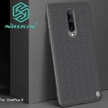 Nillkin funda con diseño de textura de nailon para Oneplus 8 Pro, texturizada