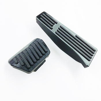 Car Foot Pedal Accelerator Gas Fuel Brake Pedal Pads Cover For BMW E60 E61 E90 E92 F10 F11 F01 F02 F25 F26 Car Accessories new arrival car foot pedal for tesla model 3 accelerator gas fuel brake pedal pads mats cover accessories car styling