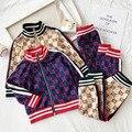 Детские носки для маленьких мальчиков, одежда для девочек, Осенний детский спортивный комплект одежды для девочек; Комплекты детской одежд...