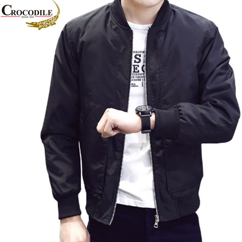 Men's Jackets Outerwear Coats Wind-Breaker Spring Outdoors Casual Crocodile-Brand New