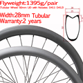 Super light width 28mm carbon road bike disc wheel tubular straight pull 2 years warranty Novatec D411 D412 cyclocross wheelset|Bicycle Wheel| |  -
