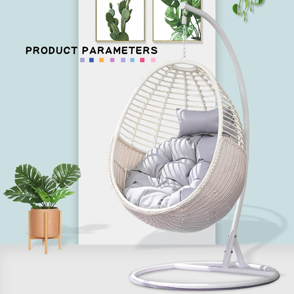 papasan chair seat cushion round chair pad indoor outdoor seat cushion for hammock hanging basket swing chair rocking chair seat