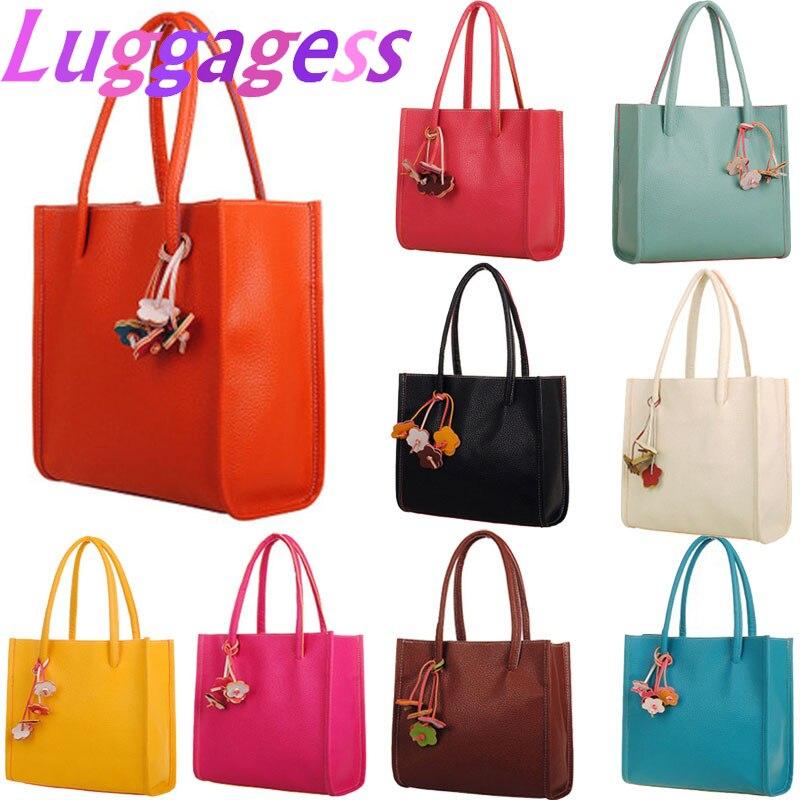 2019 Women's Fashion Elegant Girls Handbag Leather Shoulder Bag Ladies Tote Bag Handbags сумка женская Torebki Damskie