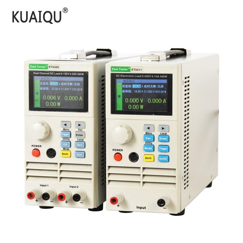 Программируемая Электрическая нагрузка постоянного тока Kuaiqu, цифровой контроль, электронный тестер нагрузки аккумулятора постоянного тока, нагрузка 150 в, 40 А, нагрузка 400 Вт Тестеры аккумуляторов    АлиЭкспресс