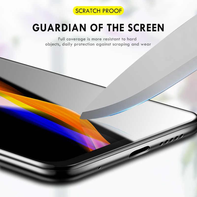 MDHT HUI AYSMG 25 PCS 9H 5D Full Glue Full Screen Tempered Glass Film for Galaxy A20