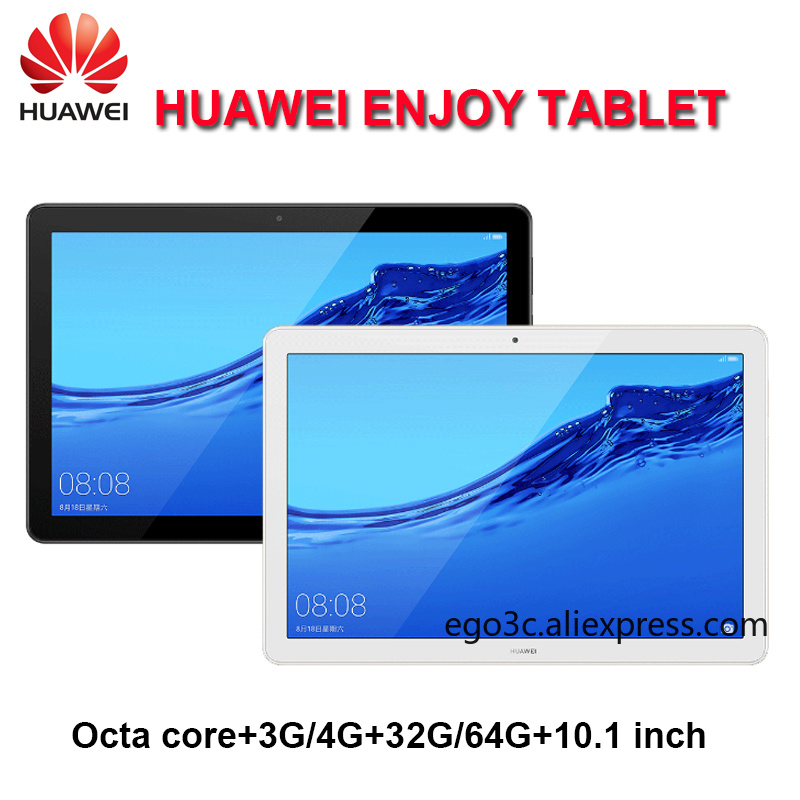 Huawei Enjoy Tablet 10.1 Inch Kirin 659 Octa Core 3G / 4G RAM 32G / 64G ROM Wifi/LTE 5100mAh 1920 X 1200 Android 8.0 CN Version