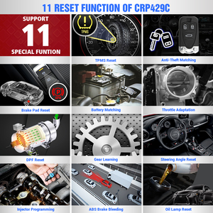 Image 3 - LAUNCH X431 CRP429C OBD2 Car Professional diagnostic tool ENG ABS Airbag SRS AT Scanner IMMO TMPS DPF SAS Oil reset PK easydiag