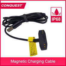 100% Original magnetic cable for CONQUEST S16/S8 / S11 / S12Pro fast charging for Rugged smartphone USB magnetic charging cable
