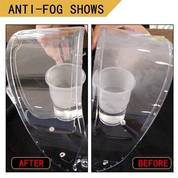 AEP claro Cerradura Anti-niebla parche de la motocicleta completa máscara genérico para K3 K4 AX8 LS2 HJC Marushin lentes de cascos Anti-niebla visor