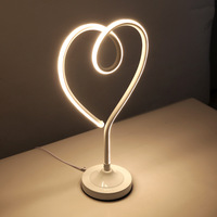 Northern European Style Post modern Clip on LED Lamp Learning Eye Protection Reading Lamp Small Night Lamp Valentine's Day Gift