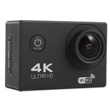Горячая беспроводная Wifi Экшн-камера HD 4K Водонепроницаемая широкоугольная 2,0 дюймовый экран для спорта на открытом воздухе