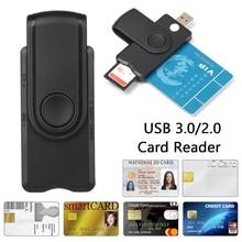 Reader USB Usb-3.0 Cloner-Connector-Adapter Id-Bank EMV Smart-Card Tf-Memory SIM Citizen
