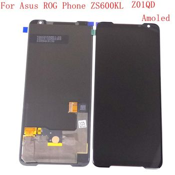 Super Amoled For Asus Zenfone ZS600KL / ROG Phone Lcd Screen Display WIth Touch Glass Digitizer Assembly ROG lcd