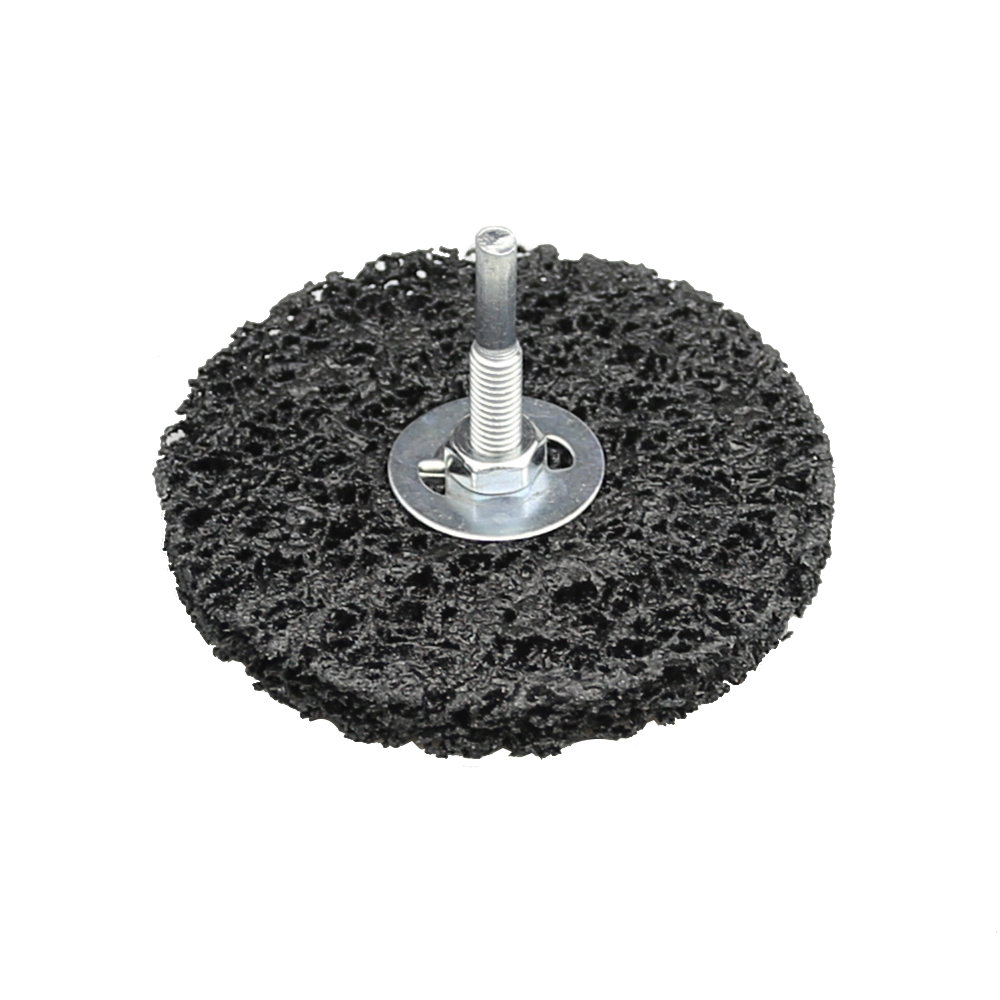 Image 2 - 1 piece Drill Rust Removal Disc Paint Peeling Abrasive Wheel-in Abrasive Tools from Tools
