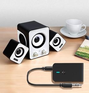 Image 5 - CALETOP APTX Niedrigen Latenz Bluetooth 5,0 Sender Empfänger 2 In 1 3,5mm Audio Wireless Adapter Für Auto TV PC lautsprecher Kopfhörer