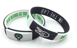 Wristband Rubber-Bracelet Power-Bangle-Balance Deuce-Energy Jewelry Fashion in Silicone