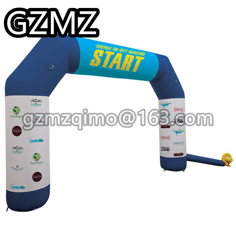 MZQM Inflatable Arch Inflatable Archway Template with Vector Image or Logo Printing