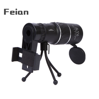 Professional Monocular telescope 16x52 powerful HD Low Light night vision telescopes travel Camping hunting monoculars telescope