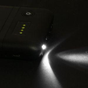 Image 2 - Çift USB QC 3.0 6x18650 pil DIY güç bankası LED ışık ile LED ışık DC 9V 12V şarj iPhone Xiaomi cep telefonu Tablet