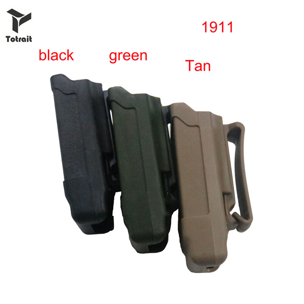 TOtrait CQC Stack Magazine Holster Tactical Mag Holder for 1911 Caliber Magazine or Glock 9mm Caliber black/green/Tan image