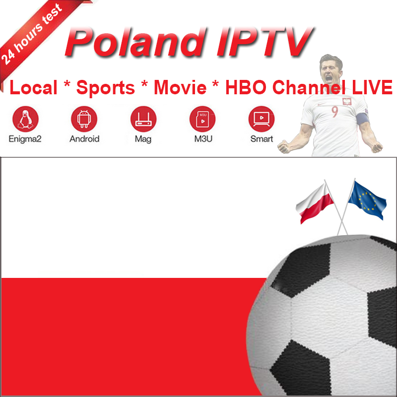Poland M3U 6/12 Month IPTV Subscription For Polis Local Sports Movies Adult HBO Channel Live For HD Smartss Android Box Iptv