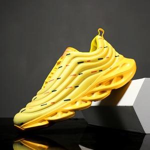 Image 4 - 2019 Nhiều Màu Không Lưới Nam Giày Nhẹ Thoáng Khí Sneakers Nam Mùa Hè Nam Huấn Luyện Viên Giày Zapatillas Hombre