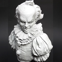 115mm Resin Model Bust GK The Clown Fantasy theme evil Unassembled and unpainted kit