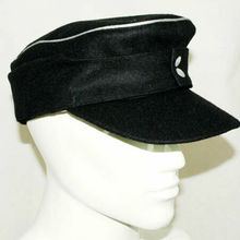 Field-Cap M43 WWII Ww2 German WH Military-Store Officers-Wool Panzer Em-Hat In-Sizes
