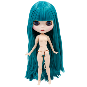 Image 5 - קפוא DBS Blyth הבובה 1/6 משותף גוף לבן וסופר כהה עור 30 cm BJD שמנוני שיער DIY אופנה בובה ילדה