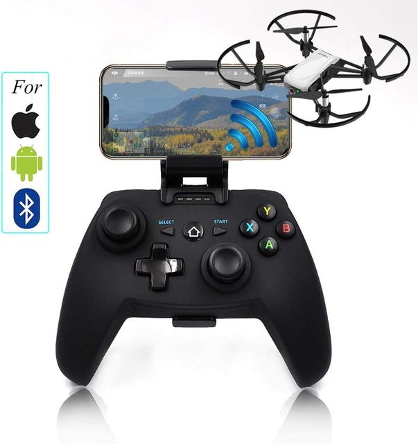 S1D โทรศัพท์มือถือไร้สาย Controller จอยสติ๊กสำหรับ Tello/Spark Drone REMOTE Controller (สำหรับ Apple/Android/บลูทูธระบบ)