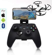 S1D אלחוטי נייד טלפון בקר ג ויסטיק עבור Tello/ניצוץ Drone מרחוק בקר (עבור אפל/אנדרואיד/Bluetooth מערכת)