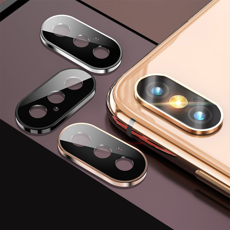 3D Full Back Camera Lens Screen Protector for iPhone 11 Pro Max X R XS Tempered Glass 3