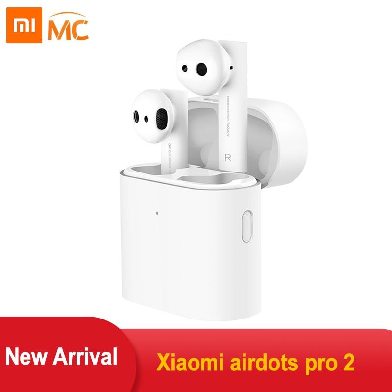 Xiao mi Airdots Pro 2 mi True беспроводные наушники Air 2 TWS наушники с шумоподавлением LHDC управление нажатием Dual mi C
