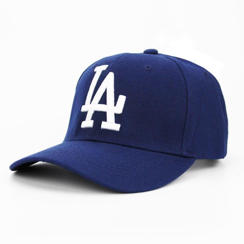 2020 LA Dodgers Baseball Cap Letter Embroidery Snapback Outdoor Bone Hat Summer Hiking Adjustable Hip Hop Dad Hats Casquette