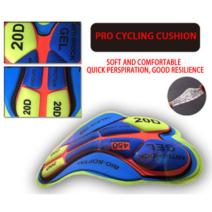Image 5 - STRAVA Pro Team 2020 New Cycling 20D GEL Pad Bib Shorts MTB Quick Dry Breathable Padded Sport Bicycle Wear Bicycle LICRA
