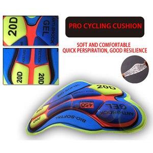 Image 5 - STRAVA Pro Team 2020 New Cycling 20D GEL Pad pantaloncini con bretelle MTB Quick Dry traspirante imbottito Sport abbigliamento da bici bicicletta LICRA