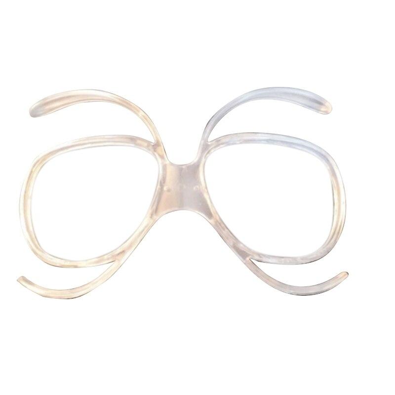 5PCS Clear Ski Goggles Myopia Frame Skiing Snowboard Goggles Glasses Sunglasses Adapter Myopia Inline Frame Myopia Lens Frame