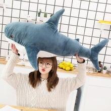 Прекрасный большой акулы мягкие плюшевые игрушки куклы для животных
