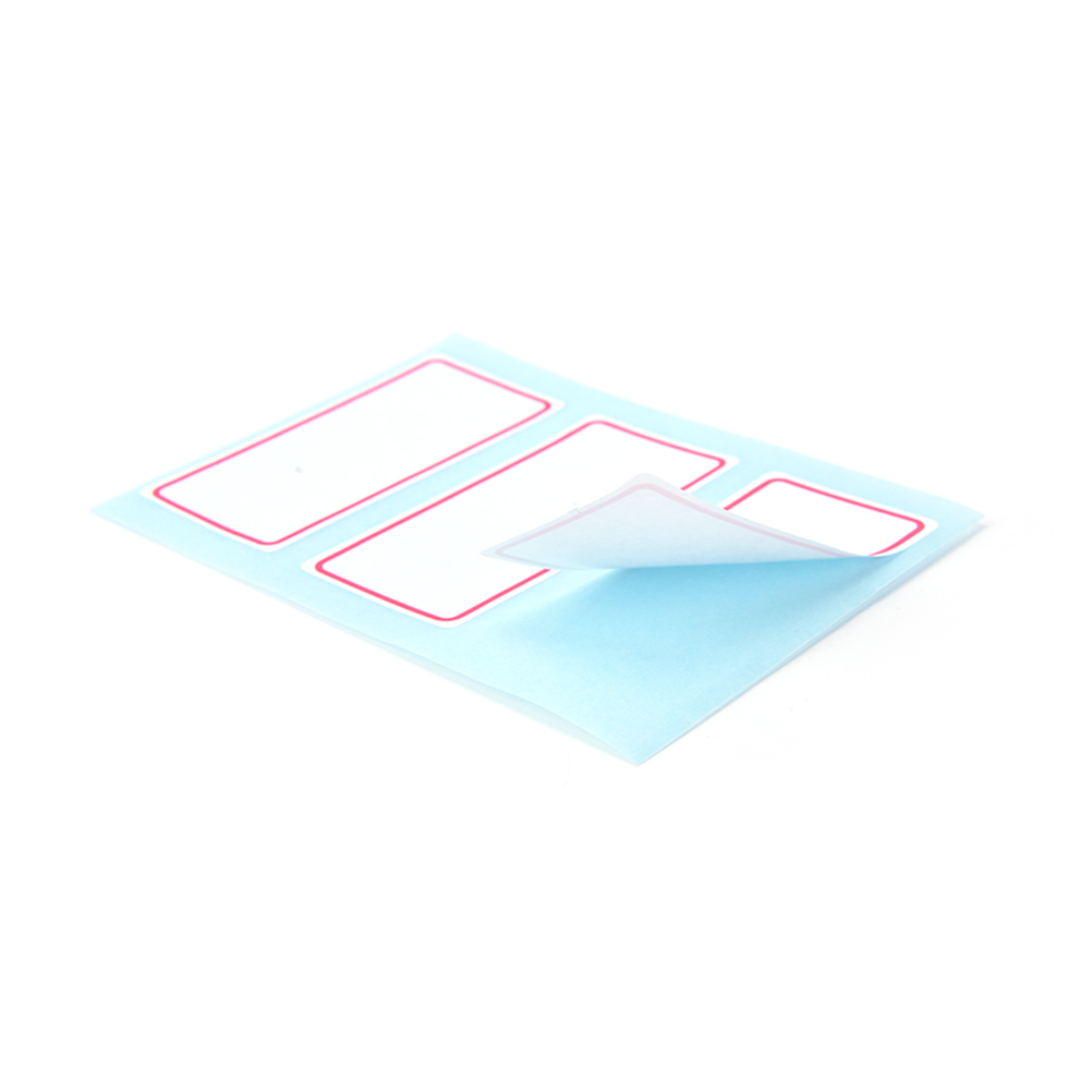 12sheets self adhesive label Blank note label Bar sticky writable name stickers!