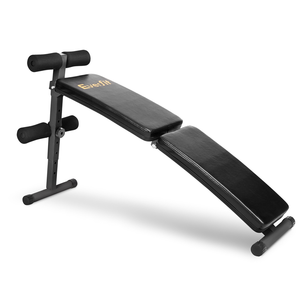 Everfit Home Exercise Fitness Adjustable Sit Up Bench FIT-E-SEGA-SIT-UP-F Foldable And Portable Adjustable Sit Up Bench