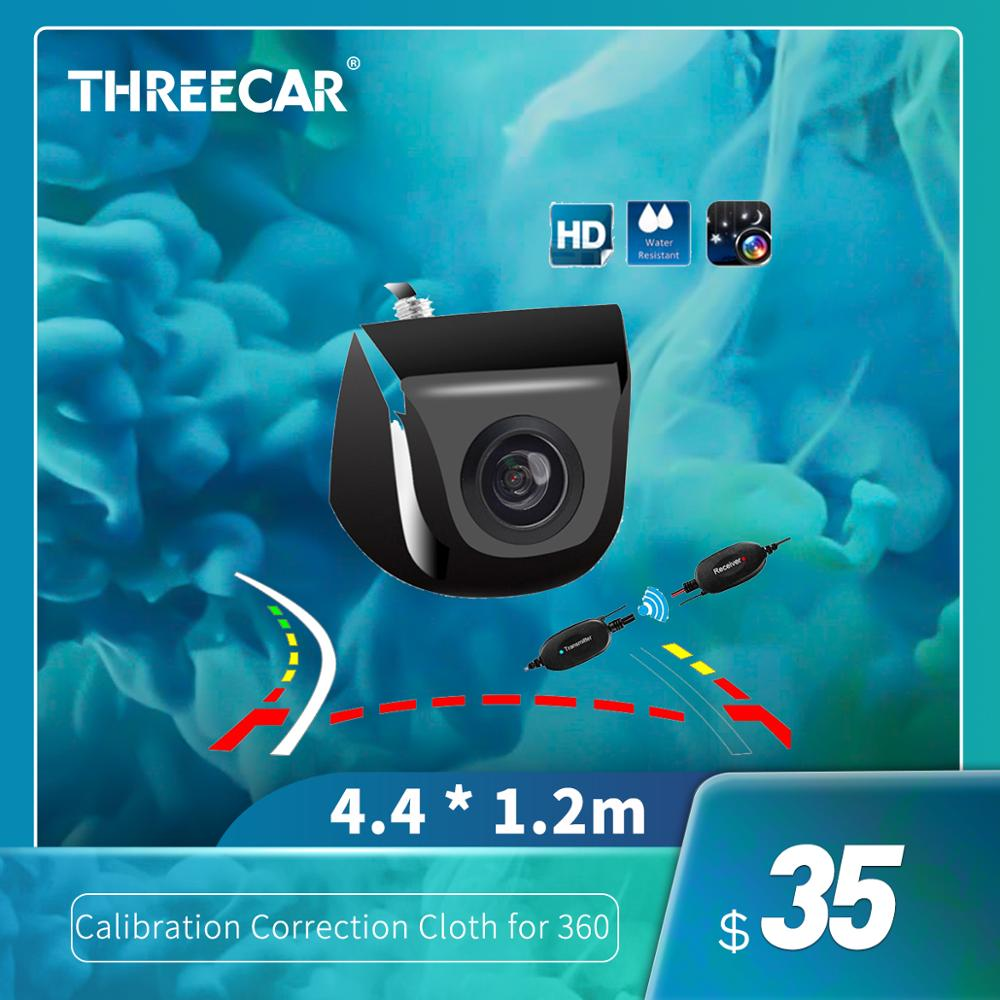 Intelligent Dynamic Trajectory Car Rearview Camera Parking Line Car Rear View Camera Back Up Parking Assistance Video 170 Degree