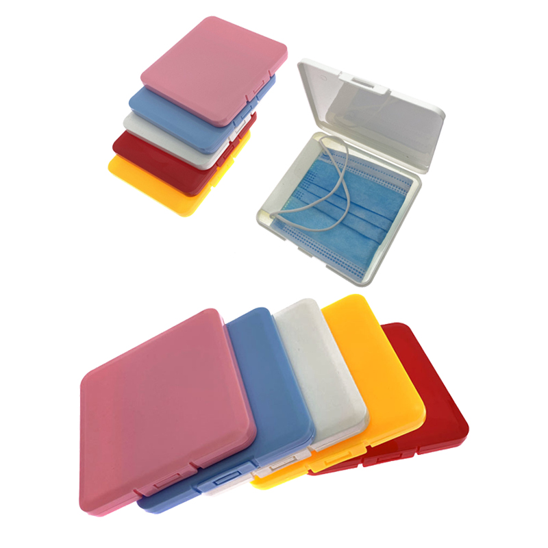 PP Mask Storage Box Mask Holder Portable Dust-Proof Moisture-Proof Children Mask Box ATemporary Storage Folder Storage Boxes(China)