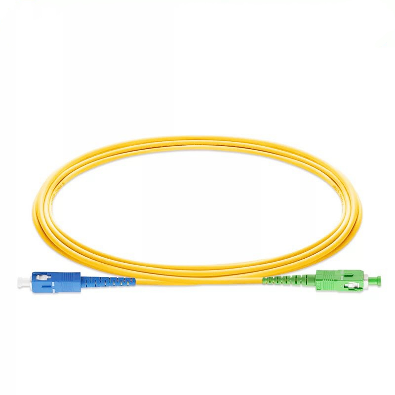10PCS/bag SC APC-SC UPC 3M Simplex Mode Fiber Optic Patch Cord Cable 2.0mm Or 3.0mm
