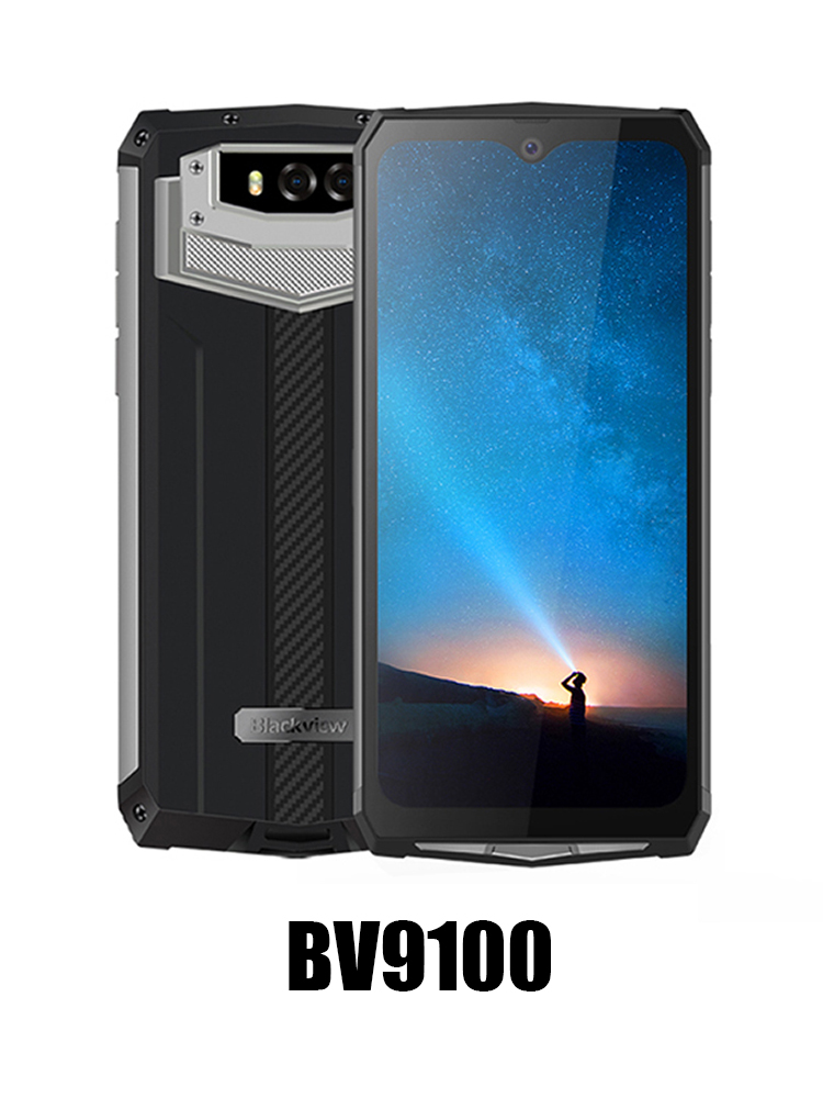 Blackview BV9100 13000mah Rugged-Phone 64GB LTE/GSM/WCDMA NFC Supercharge Gorilla Glass